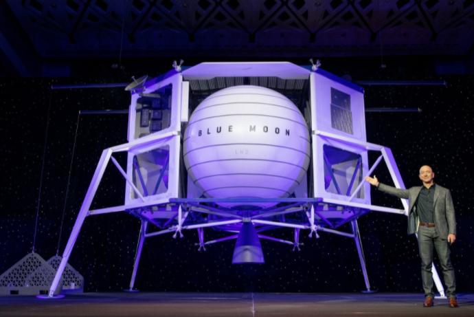 Jeff Bezos le hizo a la NASA una oferta